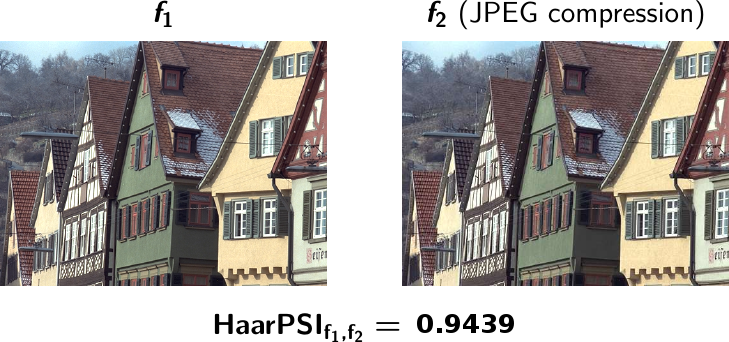HaarPSI - A Haar Wavelet-Based Perceptual Similarity Index
