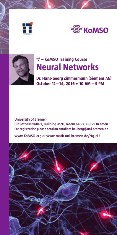 Neural Networks Course 2016